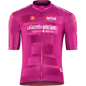 Castelli Giro d'Italia #102 Squadra Maillot Manga Corta Hombre, ciclamino
